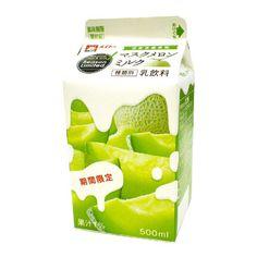 マスクメロンミルク - 食@新製品 - 『新製品』から食の今と明日を見る!