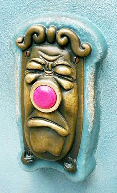 Alice in Wonderland Doorbell ~ Want!!