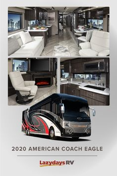 Find out what it's like to travel anywhere in with the American Eagle Class A Diesel motorhome. This is the coach that defined the term, Come and find out why for yourself. Motorhomes For Sale, Class A Motorhomes, Bad Room Ideas, Motor Homes, Camper Renovation, Rv Life, What Is Like, Campers, Diesel
