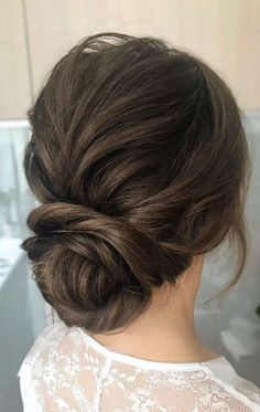 44 Messy updo hairstyles – The most romantic updo to get an elegant look - Wedding hairstyles Low Updo Hairstyles, Romantic Hairstyles, Bridal Hairstyles, Updos, Low Bridal Updo, Wedding Updo, Wedding Beauty, Wedding Dress, Prom Hair Medium