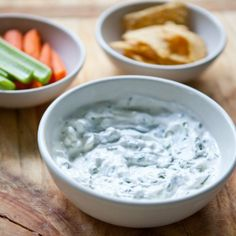 Summer Snack Recipe: Creamy, Cool Herbed Yogurt Dip Recipes from The Kitchn