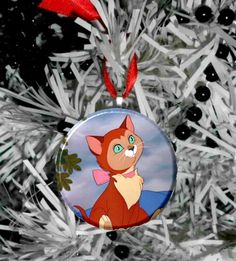 """Disney Alice In Wonderland Dinah Cat   2.25"""" Ornament by MayoBass on Etsy https://www.etsy.com/listing/255739428/disney-alice-in-wonderland-dinah-cat-225"""