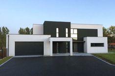 plan maison cube toit plat – Recherche Google – Idées de Décoration