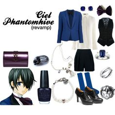 """""""Ciel Phantomhive (2)"""" by casualanime on Polyvore"""