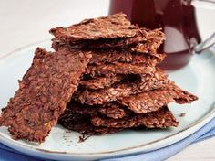 Flaxseed Cracker Recept - Smaak - Food & Drink The Most Delicious Desserts – Culture Trip Easy Healthy Recipes, Raw Food Recipes, Healthy Snacks, Dessert Recipes, Food Words, Pastry Cake, Ice Cream Recipes, Chocolate Recipes, Granola