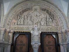 Basilique de la Madeleine - Vézelay (Bourgogne). Foto ottobre 2010