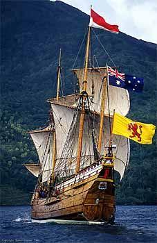 """Duyfken"" VOC Jacht replica Robert Garvey Photography. Perth Australia"