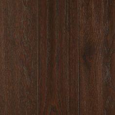 allen   roth 0.75-in Oak Hardwood Flooring Sample (Truffle)