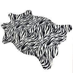 Arug HOT Zebra Print Rift Grain Rug Animal Rug Soft Carpet/Rug/Mat Pattern 3.6-Feet By -2.5-Feet (110X75CM) Polyester Indoor/Outdoor Non-Slip Rug Arug http://www.amazon.com/dp/7801701887/ref=cm_sw_r_pi_dp_WEUJub14956PF
