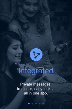 Il primo Messenger integrato, dove puoi: chiamare, inviare messaggi e gestire le tue attività con una sola applicazione.  Scaricalo gratis su www.pushmeapp.org