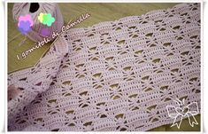 crochet cotton cover with fretwork Fillet Crochet, Manta Crochet, Afghan Patterns, Projects To Try, Crochet Hats, Blanket, Camilla, Baby, Bella