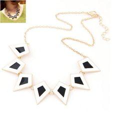 Spike Enamel Choker Collar Necklaces for Women