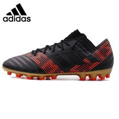 84436926f90 Adidas 17.3 AG Soccer Cleats Black With Red Stripes. Mens Soccer  CleatsFootball SoccerSoccer ShoesShoes SneakersAdidas ShoesRed StripesBlack SportsFashion