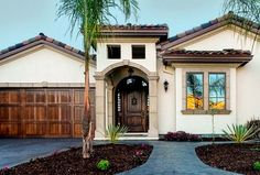 Arh plan providence 1185f exterior 15 brick general for Spanish style homes for sale near me