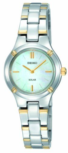 Seiko Womens SUP066 Dress Watch >>> You can find out more details at the link of the image.Note:It is affiliate link to Amazon.