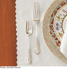 Use Vintage Silver - Atlanta's preeminent hostess, tastemaker Danielle Rollins, shares her five cardinal rules for setting the perfect Southern table. (Southern Living)