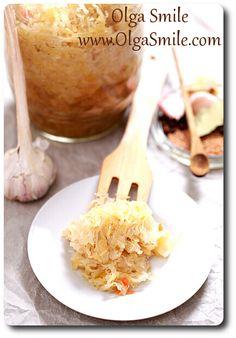 Kapusta kiszona - przepis | Kulinarne przepisy Olgi Smile