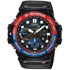 ZEGAREK MĘSKI CASIO G-SHOCK GULFMASTER http://zegarownia.pl/zegarek-meski-casio-g-shock-gn-1000-1aer
