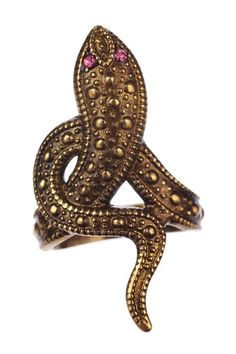 Cleopatra would approve - Cam & Zooey snake ring