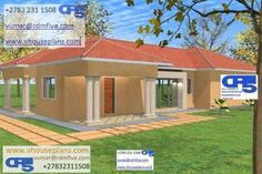 Overall Dimensions- x 2 Car Garage Area- Square meters Single Storey House Plans, Building Costs, Port Elizabeth, Site Plans, Square Meter, Garage Plans, House Floor Plans, Home Collections, Shed
