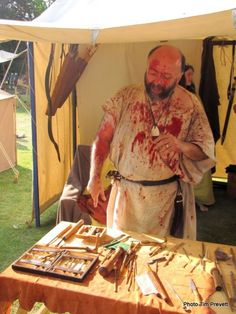 You may not want Maximo the Roman Medic to give you medical advice today but historical re-enactors can give an aesthetic heritage events unlike anything else.From a single period costumed person to an entire encampment of a dedicated historic period group, historical reenactments provide an interpretation like no other.  To read our full blog pop over to our website: http://www.heritageopendays.org.uk/blog/historical-reenactors-1#sthash.bJ0buqcj.dpuf #History #Event #Reenactment #Roman