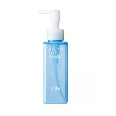HABA Micro Force Cleansing is a liquid cleanser containing micro-sized squalane wrapped in water.  #HABA #beauth #skincare #Clean #water #cleanser