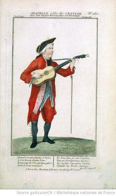 [Jean-Jacques Rousseau dans son ermitage, vaudeville de Piis, Barré, Radet, Desfontaines : costume de Chapelle (Venture)] - 1