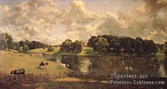 5 Wivenhoe Park Romantique Paysage John Constable