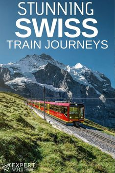 World Travel Want to explore Switzerland by train? These stunning train journeys are some of the best in Europe.Want to explore Switzerland by train? These stunning train journeys are some of the best in Europe. Europe Train Travel, Europe Travel Guide, Travel Abroad, Usa Travel, Backpacking Europe, Top Travel Destinations, Places To Travel, Nightlife Travel, Voyage Europe