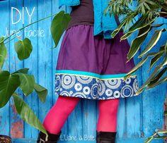 [DIY] Jupe facile L'usine à bulle Pop Couture, Crochet Diy, Vera Bradley Backpack, Clothing Patterns, Gym Shorts Womens, Chiffon, Sewing, Blog, Crafts