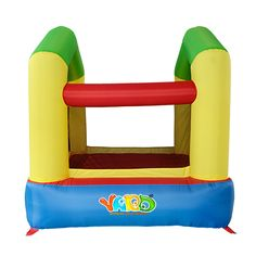 450.00$  Watch here - http://aliumu.worldwells.pw/go.php?t=32728758568 - YARD Free Shipping Mini Inflatable Bouncer Funny Bouncy Jumper For Kids Indoor Play 450.00$
