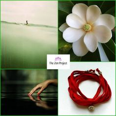 On a chilly sunny morning, we're dreaming of deserted beaches & fragrant white flowers. Come dream along with us!  *Featured below is our most popular Lotus Silk Bracelet Nr. AW001B