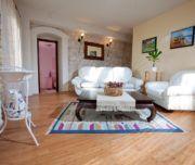 Wohnzimmer der Villa Lavanda