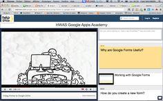 Teachem : outil pour construire une leçon à partir de vidéos + insertion notes explicatives, questions ou commentaires.