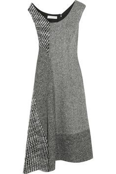Shop on-sale Stella McCartney Jackie asymmetric paneled wool-tweed dress. Browse other discount designer Dresses & more on The Most Fashionable Fashion Outlet, THE OUTNET.COM