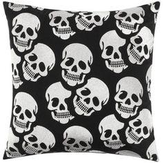 """Skull Pillow 20"""""""