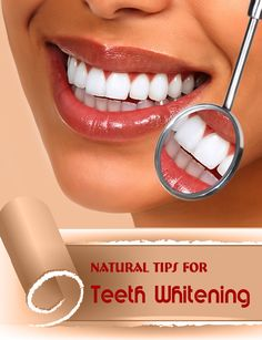 Natural Tips for Teeth Whitening - HealthVillas