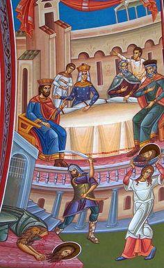 METANOIA - ALTAR ORTODOX: Taierea capului Sfantului Ioan Botezatorul