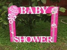 40 ideas baby shower photo booth frame girls princess party for 2019