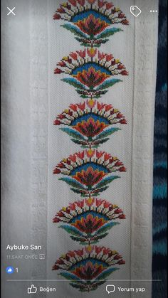 Embroidery Motifs, Cross Stitch Embroidery, Machine Embroidery Designs, Embroidery Ideas, Cross Stitch Borders, Cross Stitch Flowers, Cross Stitch Patterns, Broderie Bargello, Cross Stitch Cushion