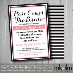Coco chanel party invitation coco chanel themed bridal shower coco chanel party invitation coco chanel themed bridal shower invitation designed and printed my party pinterest chanel party themed bridal filmwisefo