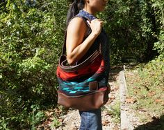 Nuri Hobo with the Spirit of the People Pendleton and Expresso Horween leather -- loads of style for fall!
