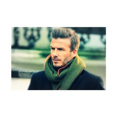 David Beckham Is Giving His Entire Team Salary To Charity | Elite... via Polyvore