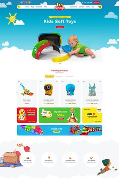 Toystore Shopify Theme #Shopify #Toystore #Shopify #Theme