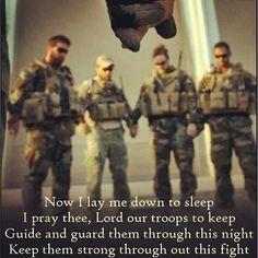 Troop prayer