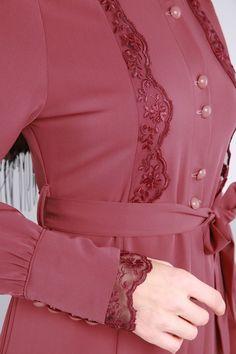 Abaya Fashion, Muslim Fashion, Fashion Dresses, Kurti Sleeves Design, Sleeves Designs For Dresses, Abaya Designs, Blouse Designs, Mode Abaya, Modele Hijab