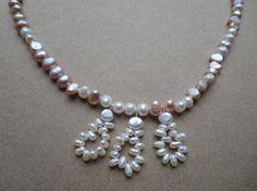 Classic Freshwater Pearl Necklace Pearl Pendant by KBrownJewellery, £48.00 www.kbrownjewellery.etsy.com