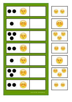 By Autismespektrum. Kindergarten Math Activities, Preschool Learning Activities, Preschool Printables, Book Activities, Toddler Activities, Kids Class, Math For Kids, Lessons For Kids, Emotions Preschool