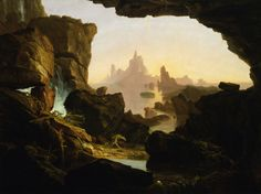 Thomas Cole (1801-1848) The Subsiding of the Waters of the Deluge