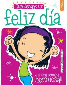 Frase para todos los días-Vini saltando de alegraia © ZEA www.tarjetaszea.com